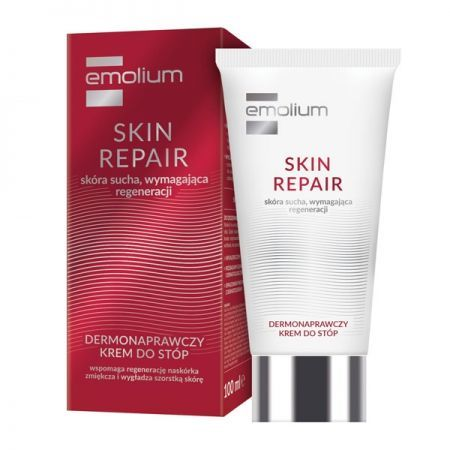 EMOLIUM SKIN REPAIR Krem do stóp dermonaprawczy 100ml