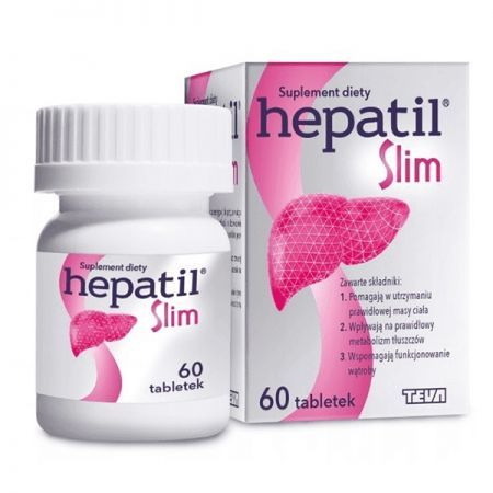 HEPATIL SLIM 0,6 g 60 tabl.