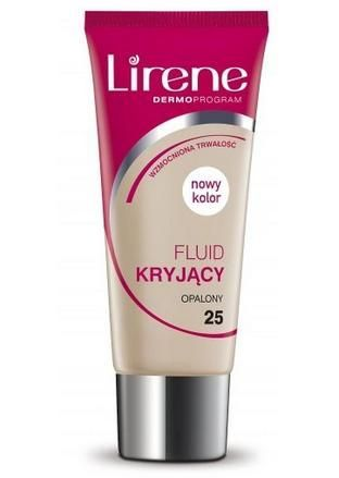 LIRENE Fluid kryjący opalony 25, 30ml