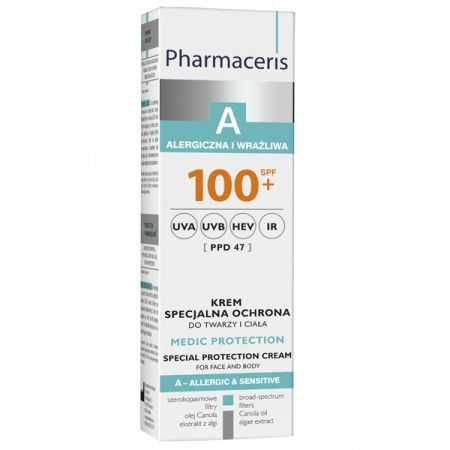PHARMACERIS A MEDIC PROTECTION Krem 100+, 75ml