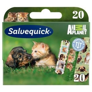 Salvequick Animal Planet plaster 20szt